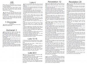 Ecritures sur Satan